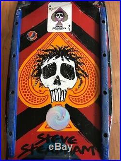 Complete 80s Vintage Powell & Peralta Steve Steadham Skateboard