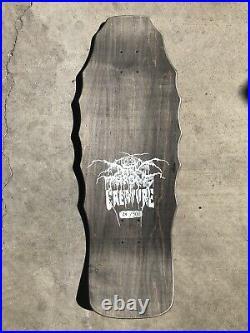 Creature Darkthrone Skateboard Deck Limited #/500-Not Santa Cruz Winkowski Natas