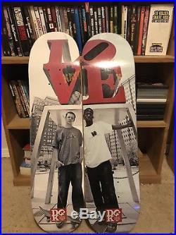 DGK Love Park Blabac Series Josh Kalis And Stevie Williams Skateboard Decks