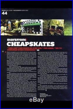 GRAIL Plan B Rodney Mullen Summer of'92 autographed vintage skateboard deck