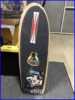 G&S Doug PINEAPPLE Saladino 2106 Reissue Skateboard Deck Blue Stain NEW