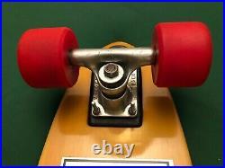 G&S FIBREFLEX BOWLRIDER TRACKER MIDTRACK, KRYPTONICS 65mm Vintage Skateboard 70s