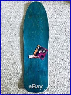 G&S Neil Blender Faces Skateboard Deck Modified 80s Shape. Screened