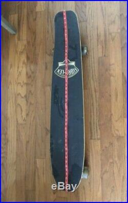 G&S Vintage Fiberflex by Gordon and Smith Skateboard Krypto Classic