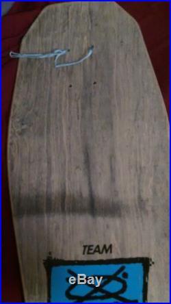 HOSOI HAMMERHEAD COLLAGE 1988 NOT REISSUE ORIGINAL SANTA CRUZ SKATEBOARD DECK