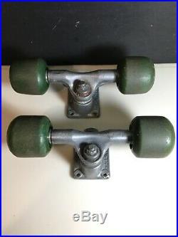 H. P. G IV Gullwing Pro 9.0 Vintage Skateboard Trucks SIMS B-52s Wheels Rare