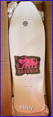JEFF GROSSO FOREVER 1989 Vintage Skateboard Deck Santa Cruz Reissue Black Label