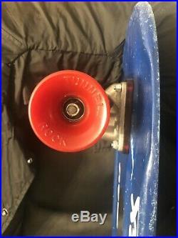 Jay Adam Vintage Z flex Skateboard, Tracker Trucks NOS Tunnel Rocks