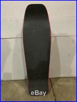 Jeff Grosso Santa Cruz Old School Skateboard (Powell, Dogtown, Zorlac deck)