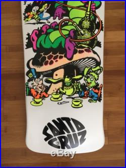 Jeff Grosso Skateboard Deck Cease and Desist C&D Santa Cruz Alice in Wonderland