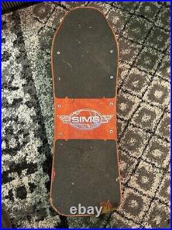Jeff Phillips Sims Tye Dye Skateboard Complete vintage Independent Oj Wheels