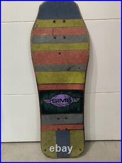 Jeff Phillips Sims Vintage Skateboard Tye Dye Demon 1987