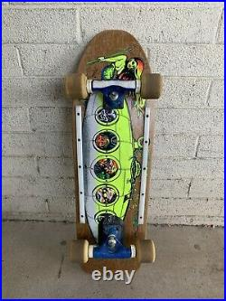 Kevin Staab Shine Submarine Skateboard Tracker Six -Trac Trucks G&S YoYo Wheels