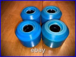 Kryptonics CX-66 Double Conical Skateboard wheels NOS 1979