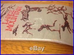 Lance Mountain Powell Peralta Vintage Nos Bones Brigade Skateboard 2005. Issue 1