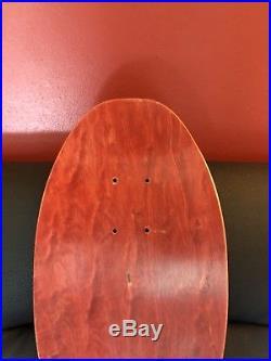 Lester Kasai Dragon 80s Original Vintage Tracker Skateboard Deck NOS Rare