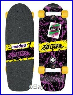 Madrid Valterra Back To The Future Marty McFly Complete Skateboard Fly Wheels