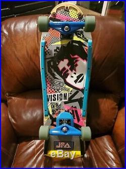 Mark Gonzales Vintage Skateboard Santa Cruz Independent