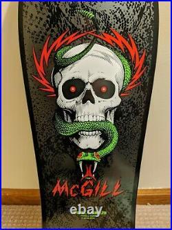 Mike McGill 2014 Reissue Deck Series 5 Black Powell Peralta Bones Brigade
