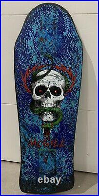 Mike McGill Vintage 80s Skateboard, Powell Peralta, Bones Brigade, Bonite