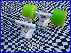 Minty ACS LITE trucks, vintage 70's skateboard trucks, dogtown logan G&S sims