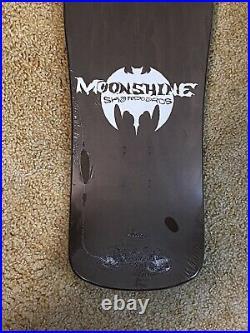 Moonshine Scott Stanton Ragdoll Skateboard Deck Screened RARE Pushead Zorlac