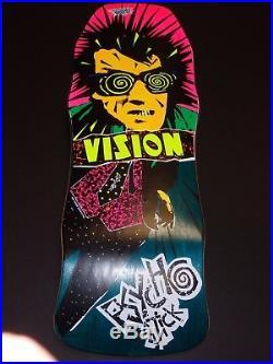 NOS 1986 VISION PSYCHO STICK SKATEBOARD sims dogtown santa cruz powell zflex