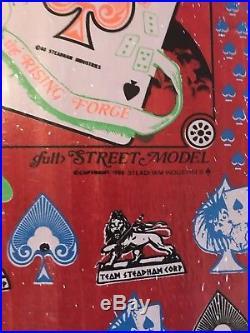NOS 1988 Steve Steadham Vintage Skateboard-Still In original wrapping