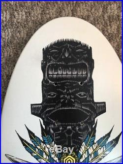 NOS 1989 Powell Peralta Steve Saiz Skateboard Voted #15 In Best Decks Of The 80