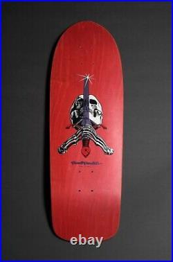 NOS 1990 Powell Peralta Skull & Sword Team Skateboard Deck Vintage Ray Rodriguez