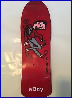 NOS G&S Neil Blender 80s Coffee Break Skateboard Deck