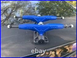 NOS Gullwing Pro 3 III Truck Navy Dark Blue New Old School Skateboard Trucks NIP