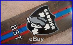 NOS / H STREET Sal Barbier Raiders Logo Skateboard Deck / NEW VTG