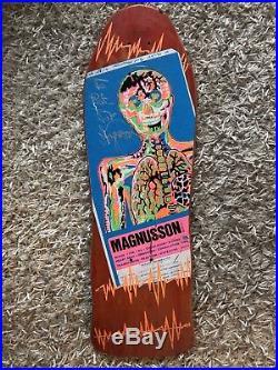 NOS Magnusson Designs Tony Magnusson Vintage Skateboard Pre H-Street 1987