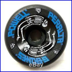 NOS Powell Peralta 1987 BLACK G-Bones Skateboard Wheels 64mm 93A NEW Vintage