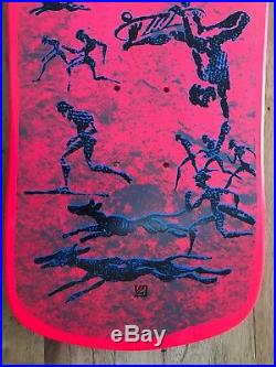 NOS Powell Peralta OG Full Size 7Ply Pink Stain Lance Mountain FP. NOT A REISSUE