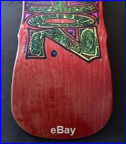 NOS RARE! VISION 1988 Primo Desiderio Oldschool Skateboard Deck New Old Stock