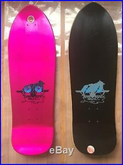 NOS Santa Cruz / SMA Natas Kaupas Kitten Blacktop Skateboard Deck VINTAGE