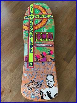 NOS Santa Monica Airlines SMA Steve Rocco 1 Skateboard Deck FULL SIZE