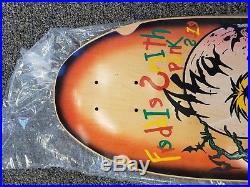 NOS Skateboard Deck Vintage Fred Smith Punk Size Deck