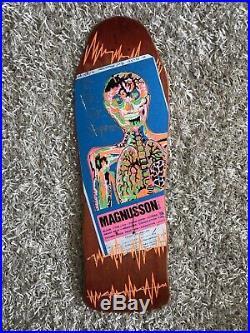 NOS Tony Magnusson H-Street vintage skateboard 1987