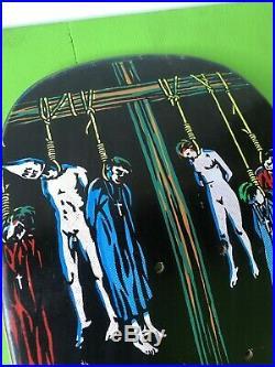 NOS Vintage 1991 NATAS KAUPAS Devil Worship Skateboard Deck 101 FROM Marc Mckee