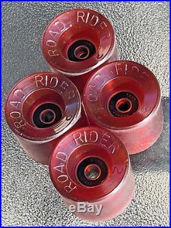NOS Vintage ROAD RIDER 2 Skateboard Wheels Dogtown Santa Cruz RARE! Juicy