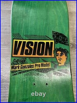 NOS Vision Mark Gonz Gonzales Original Face Skateboard Powell Santa Cruz Sims