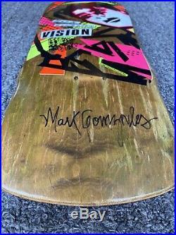NOS Vision Mark Gonzalez Vintage Skateboard