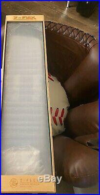 NOS Z-Flex Z. V. P. 27x6.5 Warptail reissue skateboard display deck