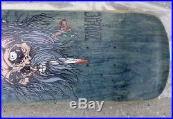 NOS Zorlac Metallica Pirate 2 Vintage Skateboard Deck Pushead 1991 Rare Ghost