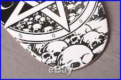 Natas Kaupas devil worship Coloring Deck 17/40 Skateboard satan Cease & Desist
