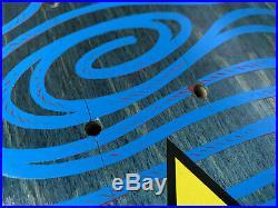 Natas Kitten Rare Blue Stain Skateboard Deck Nos Santa Cruz Sma Blacktop