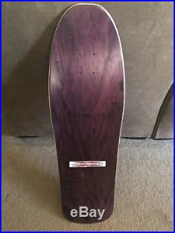 Neil Blender Faces G&S purple reissue skateboard 80s Gordon & Smith